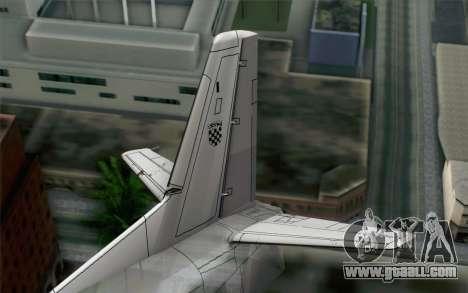 AN-32B Croatian Air Force Closed for GTA San Andreas back left view