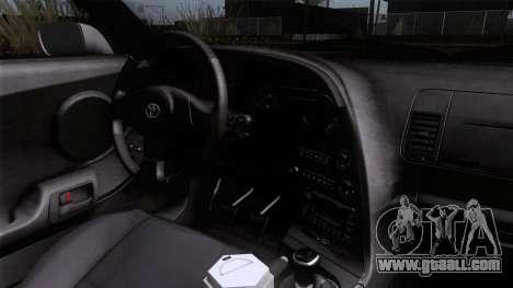 Toyota Supra US-Spec (JZA80) 1993 HQLM for GTA San Andreas