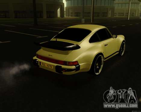 Porsche 911 Turbo for GTA San Andreas left view