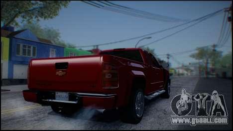 Chevrolet Silverado 1500 HD Stock for GTA San Andreas right view