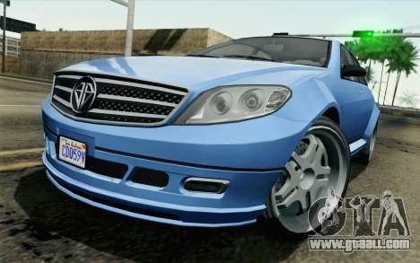GTA 5 Benefactor Schafter for GTA San Andreas