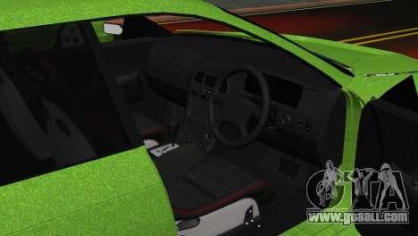 Toyota Mark II Tourer_V for GTA San Andreas back view