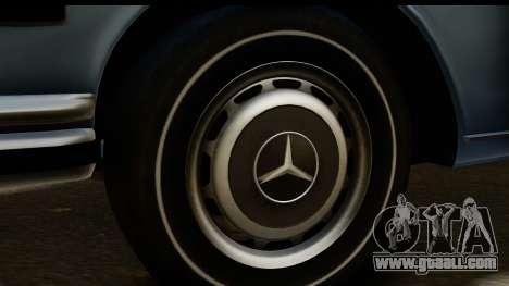 Mercedes-Benz 300 SEL 6.3 (W109) 1967 HQLM for GTA San Andreas back view