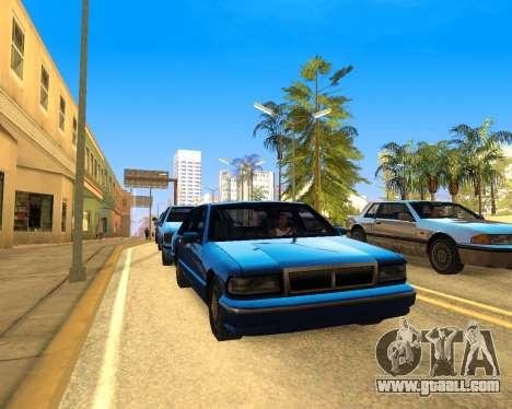 ENB for SAMP by MAKET for GTA San Andreas
