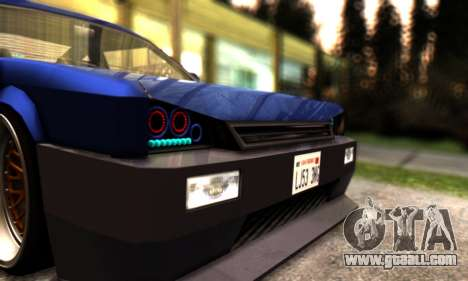 Blista Compact By VeroneProd for GTA San Andreas side view