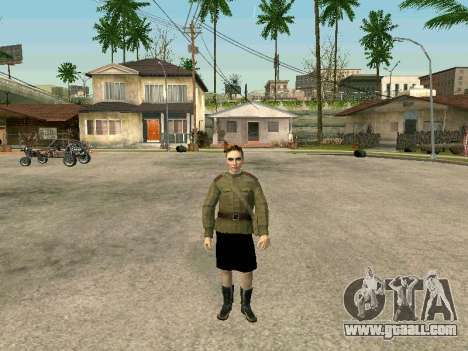 Sergeant military field medicine for GTA San Andreas third screenshot