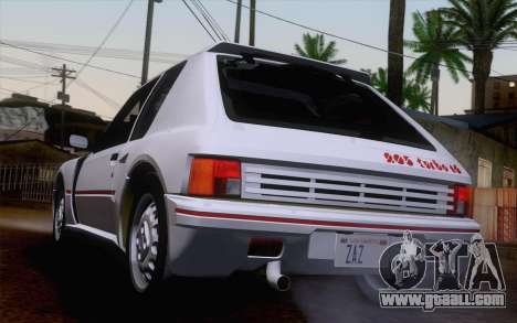 Peugeot 205 Turbo 16 1984 [IVF] for GTA San Andreas left view