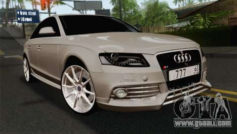 Audi S4 Sedan 2010 for GTA San Andreas