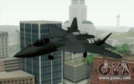 Sukhoi PAK-FA China Air Force for GTA San Andreas