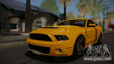Ford Shelby GT500 2013 Vossen version for GTA San Andreas side view