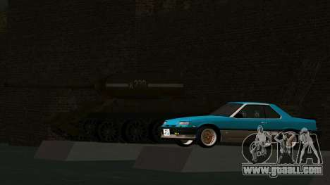 Nissan Skyline 2000 Turbo Intercooler RS-X kouki for GTA San Andreas inner view