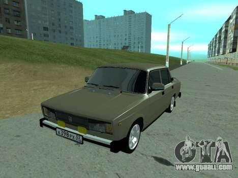 VAZ 2105 Lada for GTA San Andreas