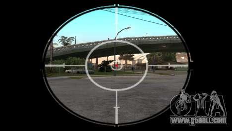 AWP DragonLore из CS:GO for GTA San Andreas third screenshot