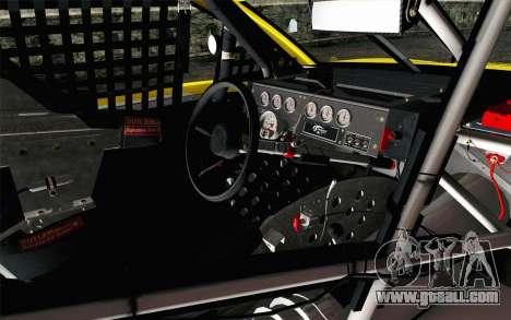 NASCAR Ford Fusion 2013 v4 for GTA San Andreas right view