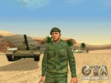 The Russian military is in a new form for GTA San Andreas seventh screenshot