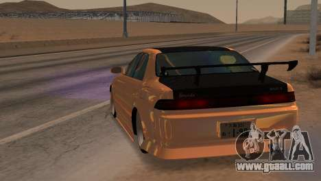 Toyota Mark II for GTA San Andreas back view