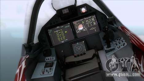 Sukhoi T-50 PAK FA Akula with Trinity for GTA San Andreas right view