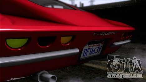 GTA 5 Invetero Coquette Classic HT for GTA San Andreas back view