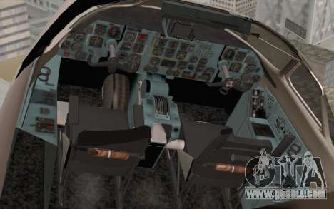 AN-32B Croatian Air Force Closed for GTA San Andreas back view