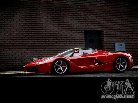 Ferrari Laferrari for GTA 4 left view