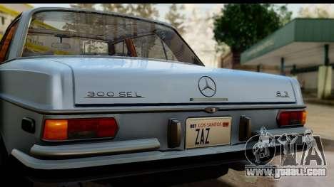 Mercedes-Benz 300 SEL 6.3 (W109) 1967 HQLM for GTA San Andreas right view