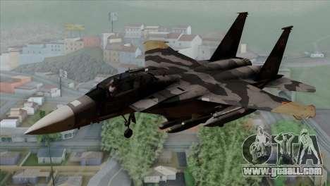 F-15E Yellow Squadron for GTA San Andreas