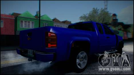 Chevrolet Silverado 1500 HD Stock for GTA San Andreas side view