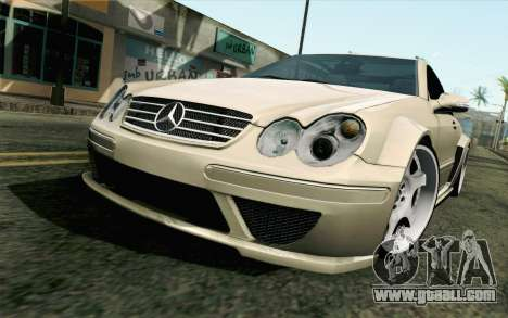 Mercedes-Benz CLK DTM 2004 for GTA San Andreas