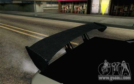Elegy Modification for GTA San Andreas inner view