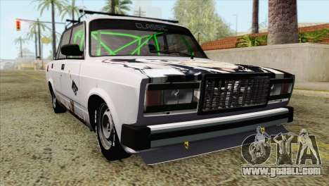 VAZ 2107 BC for GTA San Andreas