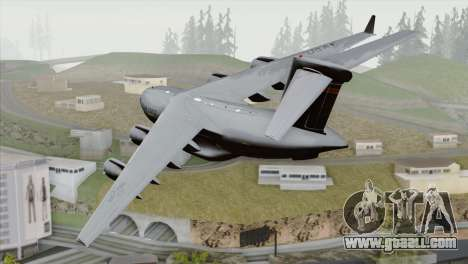 C-17A Globemaster III USAF Hickam for GTA San Andreas left view