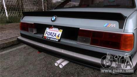 BMW M635 CSi 1984 Stock for GTA San Andreas back view