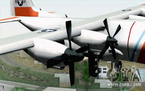 C-130H Hercules Coast Guard for GTA San Andreas right view
