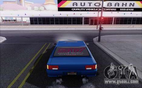 STI Sultan for GTA San Andreas back left view