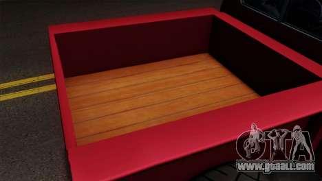 GTA 5 Bravado Rat-Truck IVF for GTA San Andreas back view