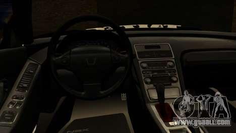 Honda NSX Street Killer for GTA San Andreas right view