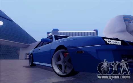 STI Sultan for GTA San Andreas back view