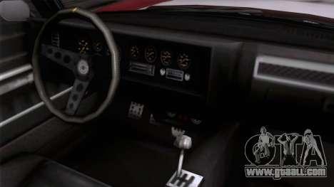 GTA 5 Invetero Coquette Classic HT for GTA San Andreas right view