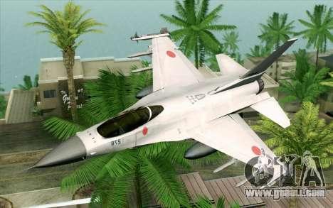 Mitsubishi F-2 Original JASDF Skin for GTA San Andreas