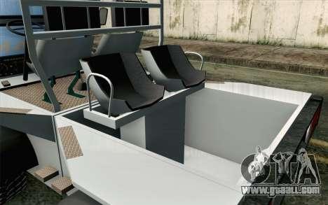 Dacia Logan MXP for GTA San Andreas back view
