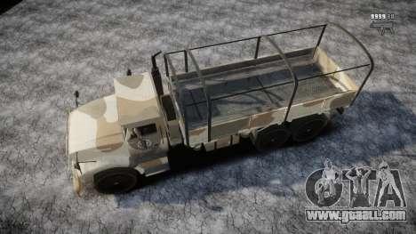 GTA 5 Barracks v2 for GTA 4 engine