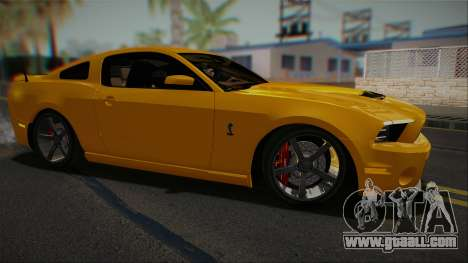 Ford Shelby GT500 2013 Vossen version for GTA San Andreas left view
