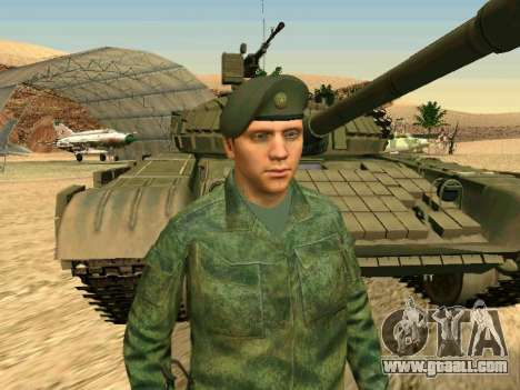 The Russian military is in a new form for GTA San Andreas ninth screenshot