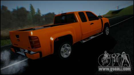 Chevrolet Silverado 1500 HD Stock for GTA San Andreas engine