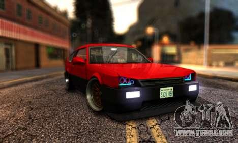 Blista Compact By VeroneProd for GTA San Andreas