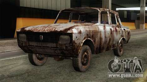 Russian Rustic Moskvitch for GTA San Andreas