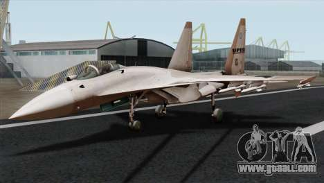 SU-37 UPEO for GTA San Andreas