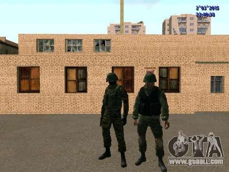Warrior battalion East for GTA San Andreas fifth screenshot
