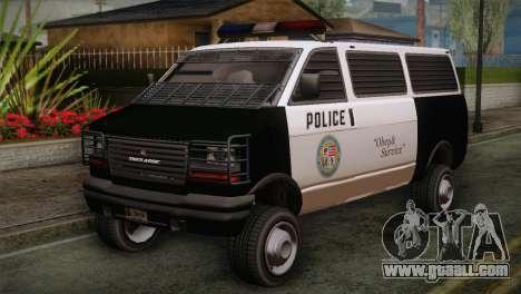 GTA 5 Police Transporter for GTA San Andreas