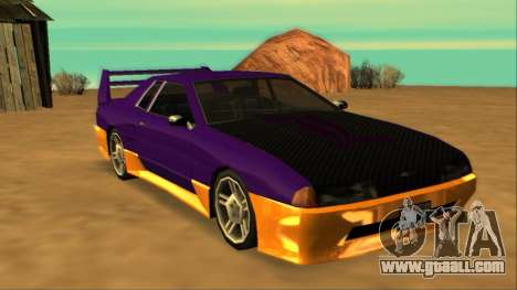 Luni Elegy FIXED for GTA San Andreas left view